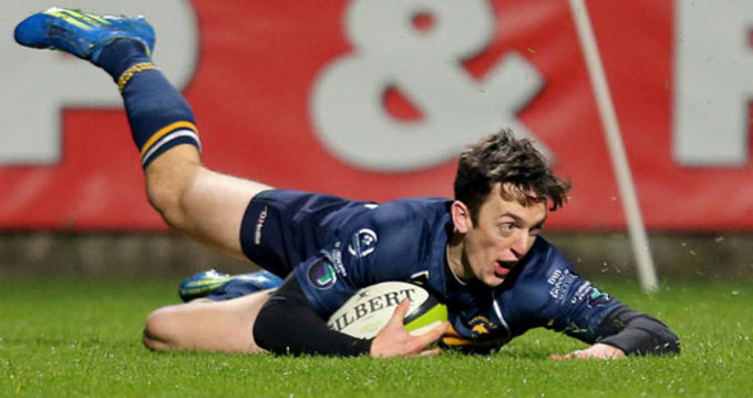Darren Sweetnam touches down for Dolphin on Friday night