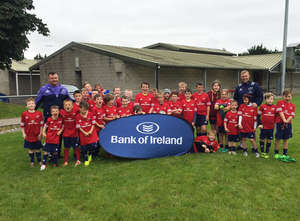 In Pics: Munster Players Visit Summer Camps
