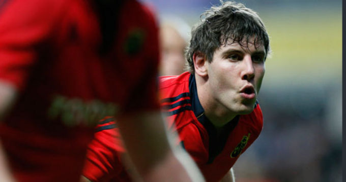 Dave O'Callaghan returns to Munster action this Friday night in Thomond Park