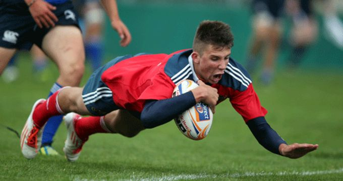 Last week's try scorer Dave O'Mahony from Ard Scoil Rís to start in the Munster 18 Schools interpro fixture against Connacht U18 Schools