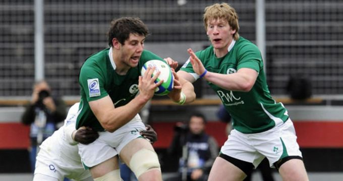 Munster and Ireland U20 player David O'Callaghan