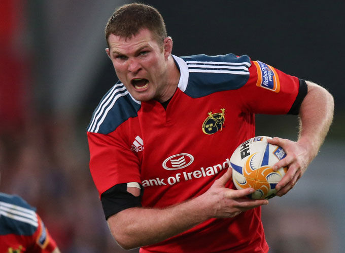 Donnacha Ryan makes his seventh appearance of the season tomorrow night