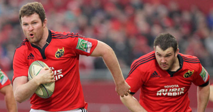 Munster's Donnacha Ryan named in Ireland Squad