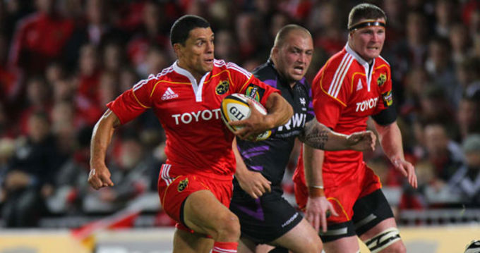 Munster face Ospreys for the fifth time this season on Saturday