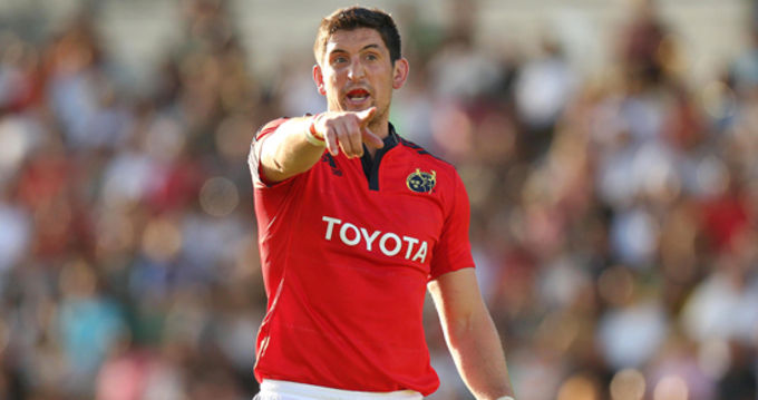 James Downey will start again this Friday when Munster take on Bristol in Musgrave Park