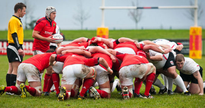 Munster in B&I Cup action