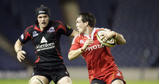 Munster welcome Edinburgh to Musgrave Park for round twelve of the Magners League