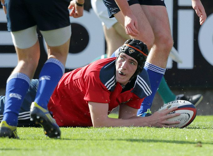 Frank Bradshaw Ryan from Munster named on the Ireland U19 squad