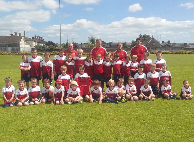 Cian Bohane, Duncan Williams and Dave O'Callaghan pictured at the Fermoy Summer Camp.