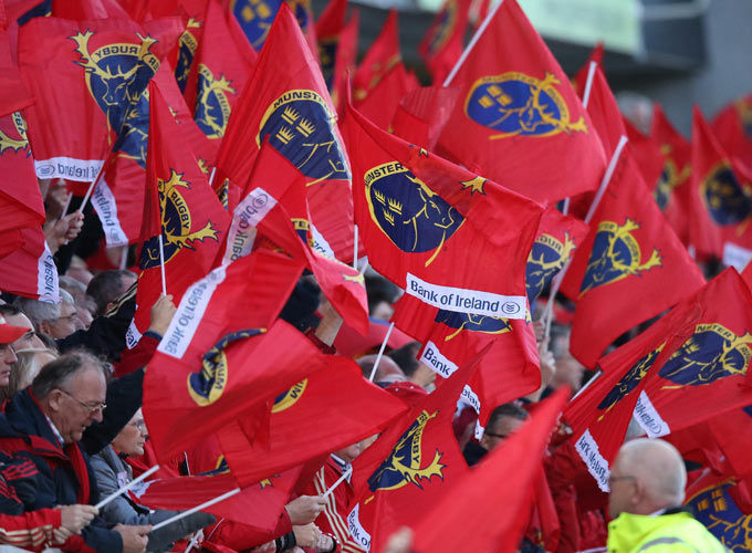 Munster fans on the road again at the end of the month