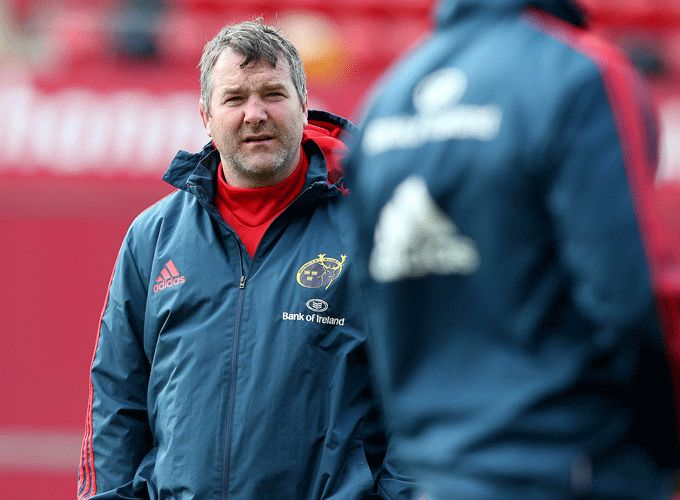 New Munster Head Coach Anthony Foley