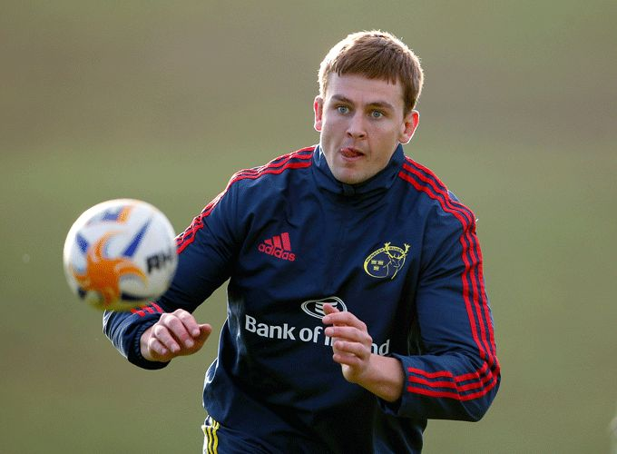 Munster second row Dave Foley