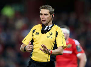 Champions Cup Referee Appointments