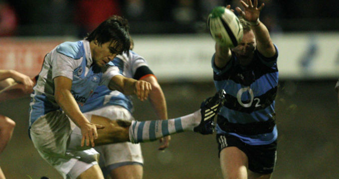 Munster Academy and Garryowen player Conor Murray in action against Shannon last season