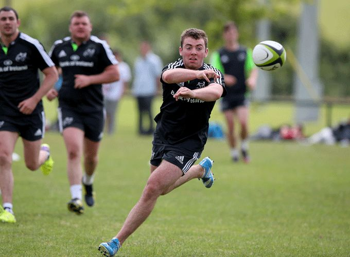 Munster Academy's Jamie Glynn continued to train with the Munster Senior squad this week.
