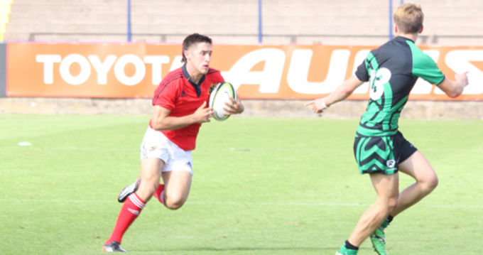 Munster U18 School's player Greg O'Shea named in the academy for season 2013/14