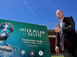 Celtic V Inter Just Days Away