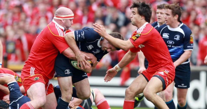 Munster - the last side to win the Magners League as the tournament now becomes the RaboDirect PRO12