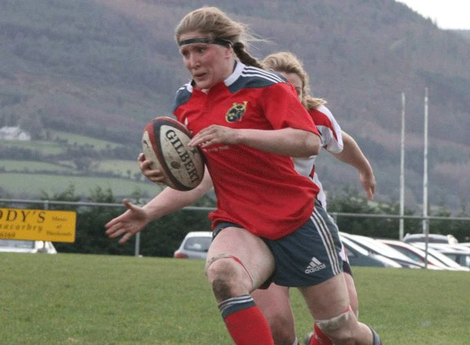 Munster Captain Heather O'Brien will lead her side this Saturday against Leinster in Thomond Park