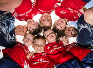 In Pics: Munster Players Visit Highfield & Scariff Summer Camps