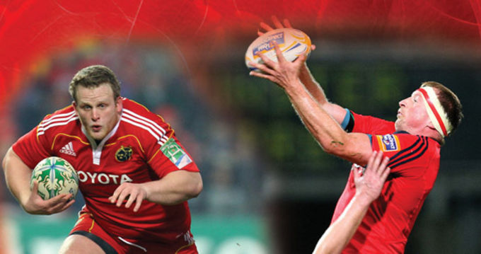 Former Munster players Darragh Hurley and Mick O'Driscoll to host scrum and lineout workshop