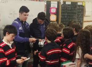 Munster Pair Visit An Mhódhscoil In Limerick
