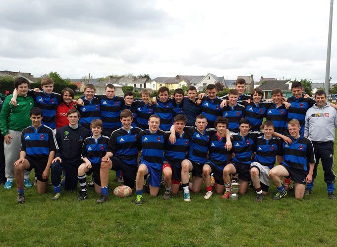 ISK Killorglin - Winners of the West Munster Schools Junior Cup
