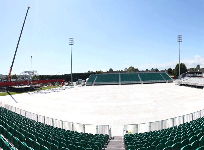 Musgrave Park gears up for Saturday's Il Divo concert