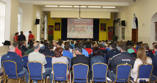 Munster Rugby Talent Camp Induction Day At Rockwell College