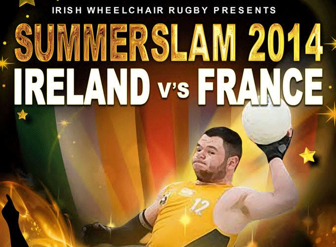 Ireland v France, Friday July 11th at IAW Sports, Blackheath Drive, Clontarf, Dublin. Admission is free.