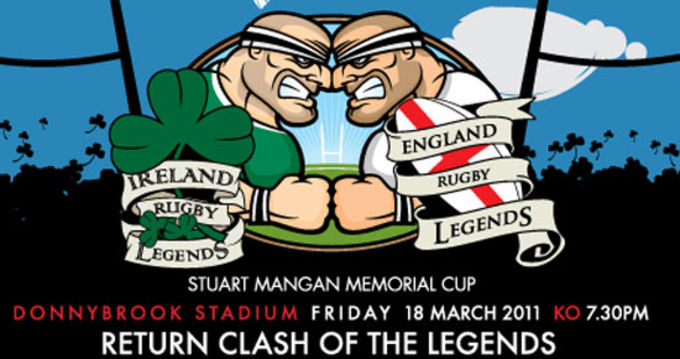 Clash of Legends on Friday 18th March