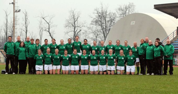 Ireland Grand Slam winning squad 2013