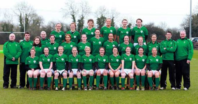 The Ireland Women's Squad and Management