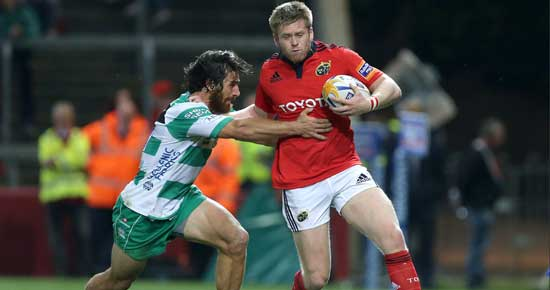 Ivan Dineen in action against Treviso last September