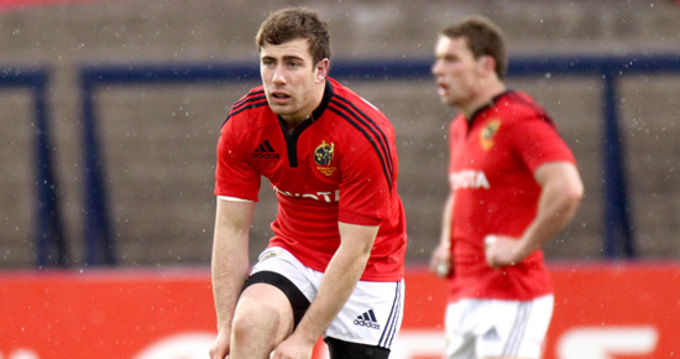 Munster's JJ Hanrhan, nominated IRB Young Player Of The Year Award 2012