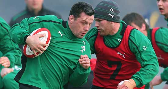 A proud day this Friday for James Coughlan as he captains the Irish Wolfhounds in Galway