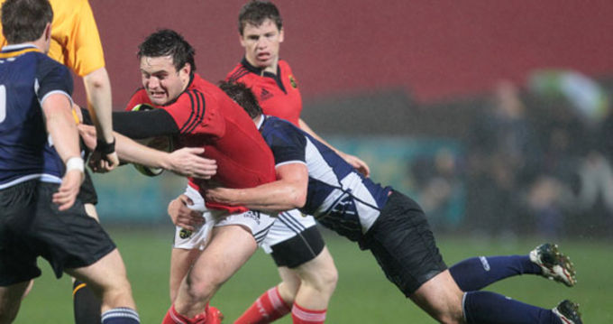 Munster's James Rael named in the starting XV
