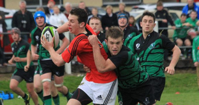 Joe White from Clonakilty RFC named in the starting XV