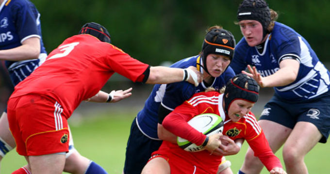 Munster's Joy Neville named in Ireland starting XV.