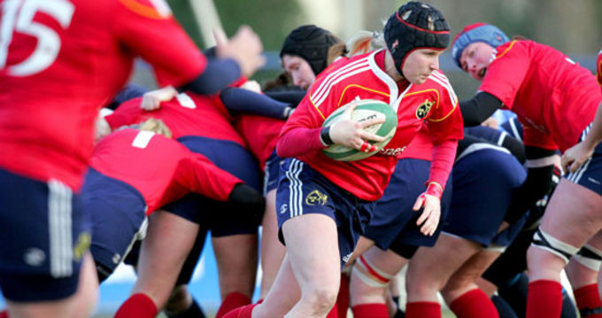 Munster's Captain Joy Neville, selected to play in the 6 Nations 2012