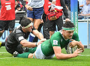 Ireland U20s Down New Zealand