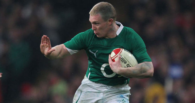 Keith Earls starts at fullback against England at the weekend