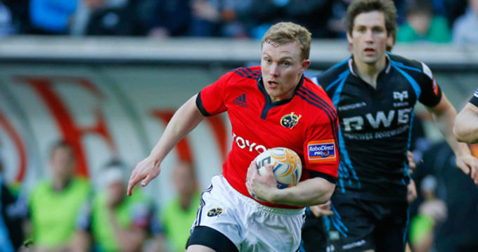 Keith Earls Ruled Out Of Second Test