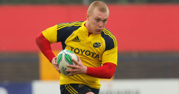Keith Earls out of Cardiff squad