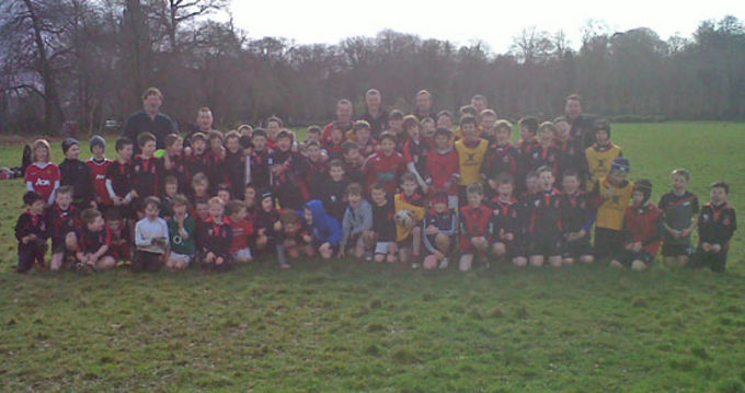 Killarney RFC Mini Rugby Workshop