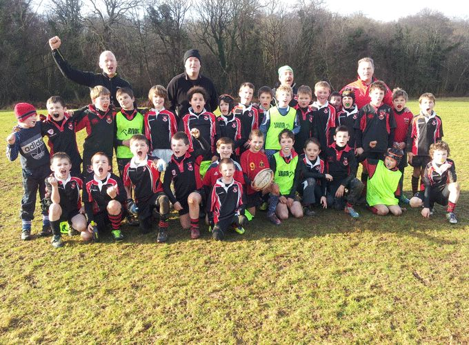 Killarney's Under 9 and Under 10 players