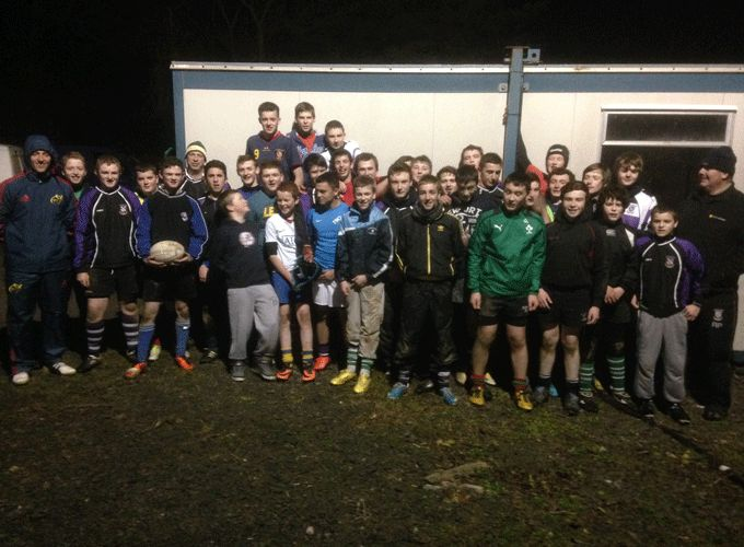Kilrush Under 15 & Under 16 players