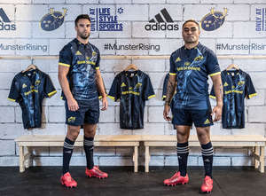 New adidas Munster Rugby Alternate Kit Launched