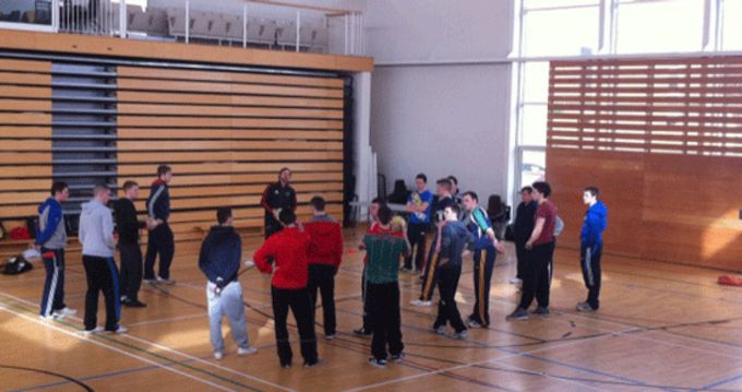 Students take part in a Leprechaun Coaching Course at LIT