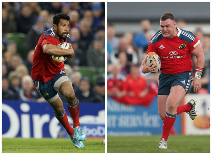 Casey Laulala and Dave Kilcoyne both included in RaboDirect PRO12 Dream Team